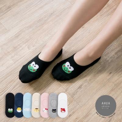 阿華有事嗎 韓國襪子 三麗鷗立體大頭隱形襪  韓妞必備船襪 正韓百搭卡通襪