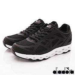DIADORA-風動釋壓慢跑鞋款 SE020黑(女段)