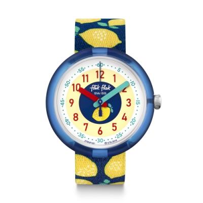 FlikFlak 兒童錶 LIMONATA 黃檸檬-34.75mm