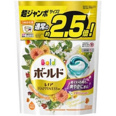 (時時樂限定)P&G日本2.5倍超強濃縮洗衣膠球 補充包(38顆入)多款可選
