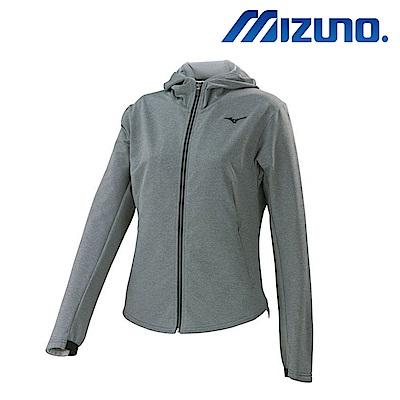MIZUNO 美津濃 女針織運動套裝上衣 中灰 32TC773208