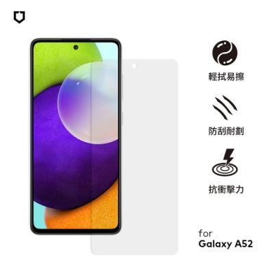 犀牛盾 適用於Samsung Galaxy A52 耐衝擊手機保護貼-透明非滿版(正面)