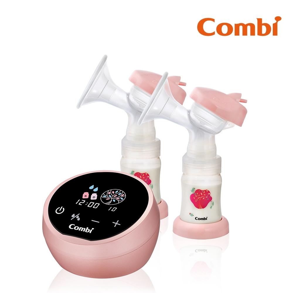 回饋8%超贈點【Combi】自然吸韻雙邊電動吸乳器 LX