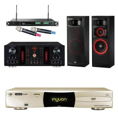 音圓N2A+FNSD A-450+XLS-12+ACT-589(伴唱機 4TB+卡拉OK套組)