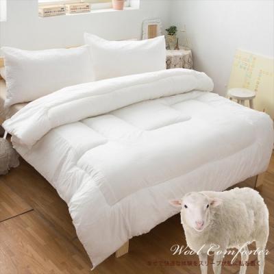 生活提案 發熱纖維續熱羊毛被 一入