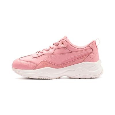 PUMA-Cilia Lux 女性復古慢跑運動鞋-新娘玫瑰