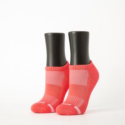Footer除臭襪-單色運動逆氣流氣墊船短襪-六雙入(桃紅*2+紫*2+藍*2)
