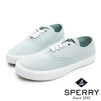 SPERRY 玩色魅力輕量牛皮休閒鞋(女)-薄荷綠