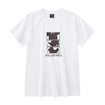 CACO-米奇好朋友款短T-情侶款(兩色)-男【QDI053】