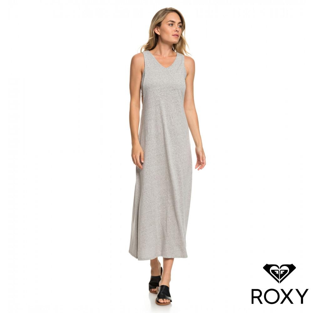 【ROXY】THAT WAY 兩件式長洋裝 灰