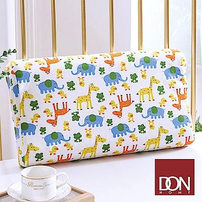 DON動物樂園 兒童波浪型人體工學乳膠枕