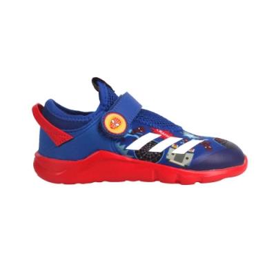 ADIDAS ACTIVEFLEX SPIDER-M AC I 男小童休閒運動鞋-慢跑 FV4265 藍紅白