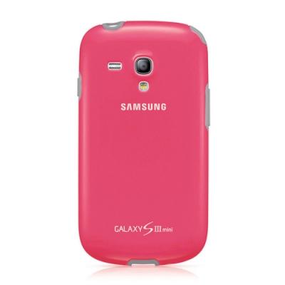 SAMSUNG GALAXY S3 mini i8190 原廠雙料保護背蓋_粉色 (原廠公司貨-盒裝)