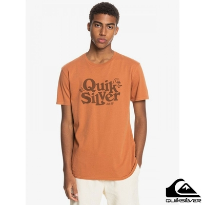 【QUIKSILVER】TALL HEIGHTS SS T恤 橘色