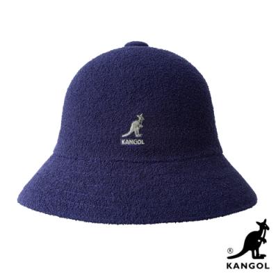 KANGOL-BERMUDA 鐘型帽 - 深藍色