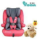 YoDa 成長型兒童安全座椅-貴族紅