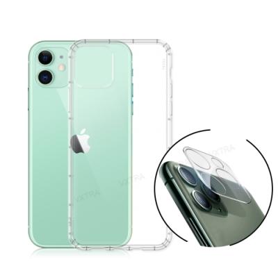 VXTRA iPhone 11 6.1吋 2.5D一體成型鏡頭玻璃貼+空壓氣墊保護殼