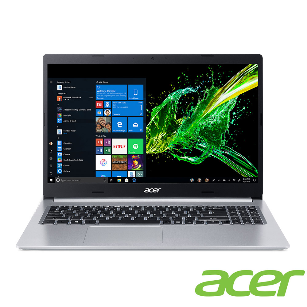 Acer A515-54G-56WR 15吋筆電(i5-10210U/MX250/4G/1TB/Aspire 5/銀)