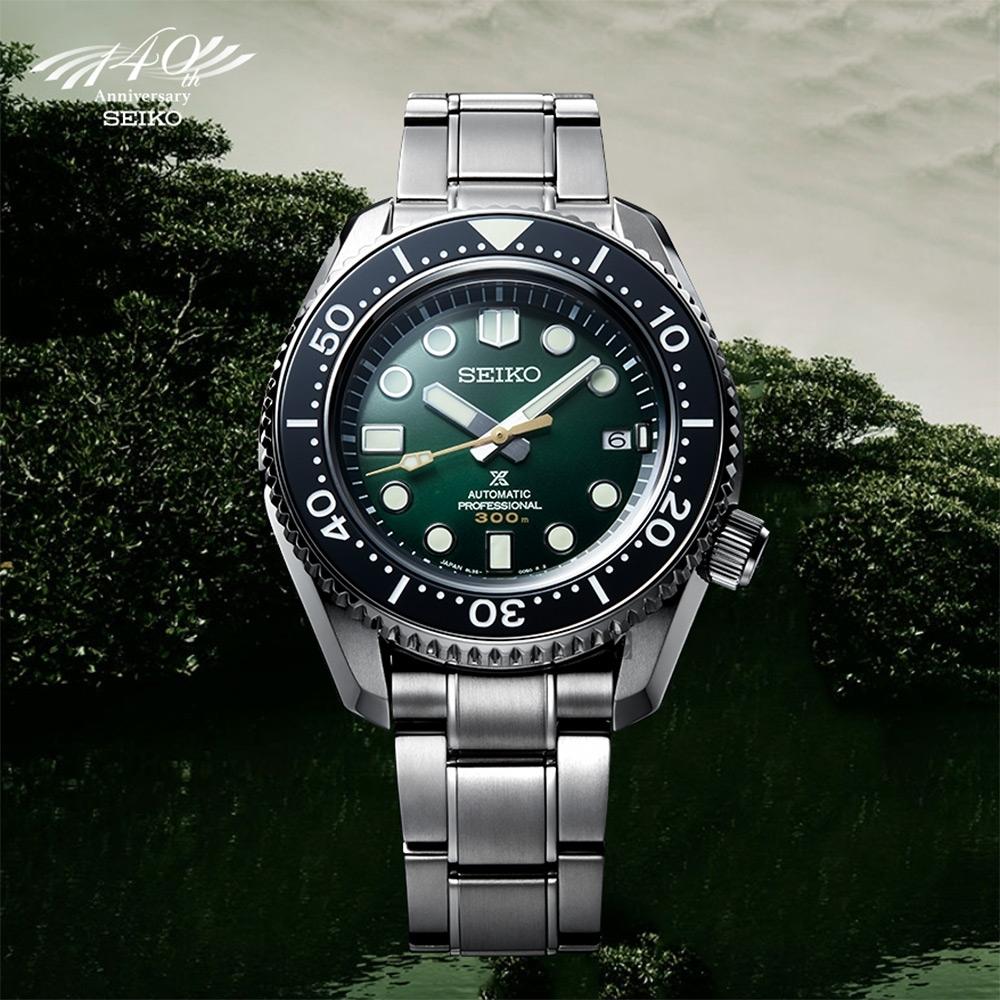 SEIKO 精工 大MM 陶瓷圈 PROSPEX 140週年限量300米潛水機械錶(SLA047J1/8L35-01E0G)