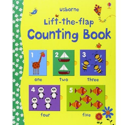 Lift-The-Flap Counting Book 翻翻學習書:數一數精裝本