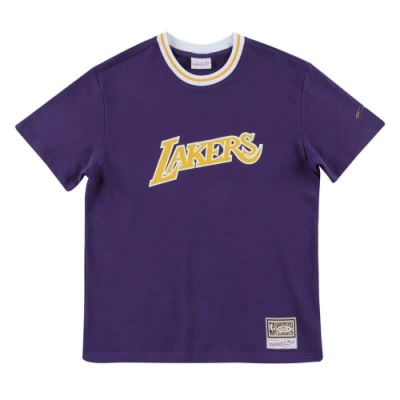 M&N NBA French Terry 短袖T恤 湖人隊 Kobe Bryant