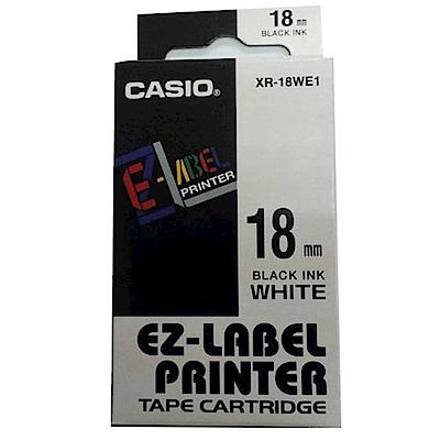 (團購10捲) CASIO 18mm標籤機色帶共9色-(另可任選顏色)