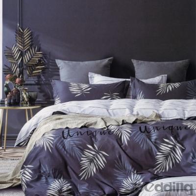 BEDDING-100%棉單人全鋪棉床包兩用被套三件組-西子湖畔