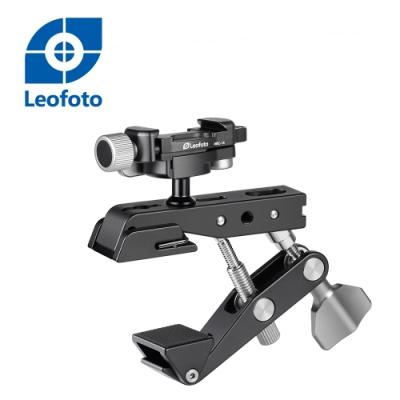 Leofoto 徠圖 MC-100 攝影鉗式固定夾具+MBC-18 迷你球型雲台