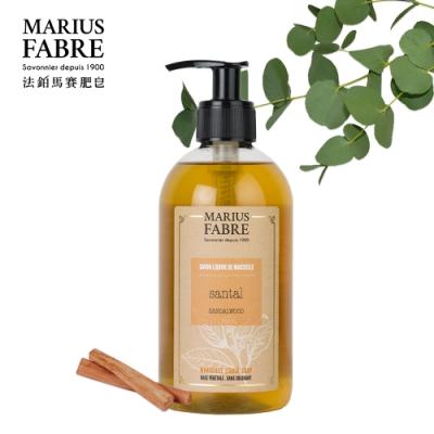法國法鉑-檀香草本液體皂-400ml-瓶