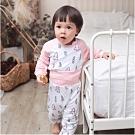 Baby童衣 居家服 保暖空氣棉護肚套裝  70118(共11色)