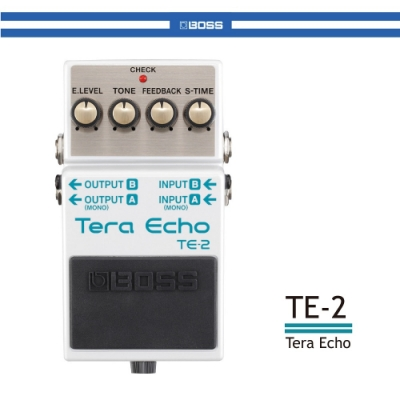 BOSS TE-2 回聲效果器/贈導線/公司貨保固