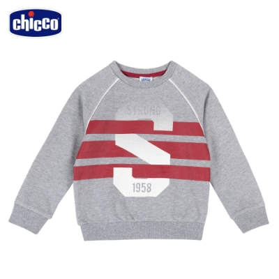 chicco- TO BE Baby-條紋S拉克蘭長袖上衣