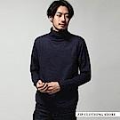喀什米爾高領針織衫(6色) ZIP日本男裝