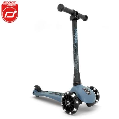 奧地利【Scoot&Ride】Kick3炫輪滑板車-岩石藍