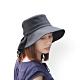 日本中初 蝴蝶結輕量純棉護頸遮陽帽