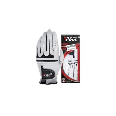 【PGM】高爾夫 男士 羊皮手套 配戴左手 一隻裝(高爾夫球 手套)