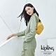 Kipling 鮮豔太陽黃簡約時尚拉鍊後背包-WINNIFRED product thumbnail 1