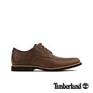 Timberland 男款中棕色全粒面休閒鞋 A1XSM