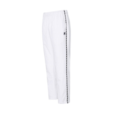 FILA #LINEA ITALIA 平織長褲-白 1PNT-5415-WT