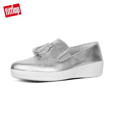 FitFlop TASSEL SUPERSKATE 樂福鞋 銀色