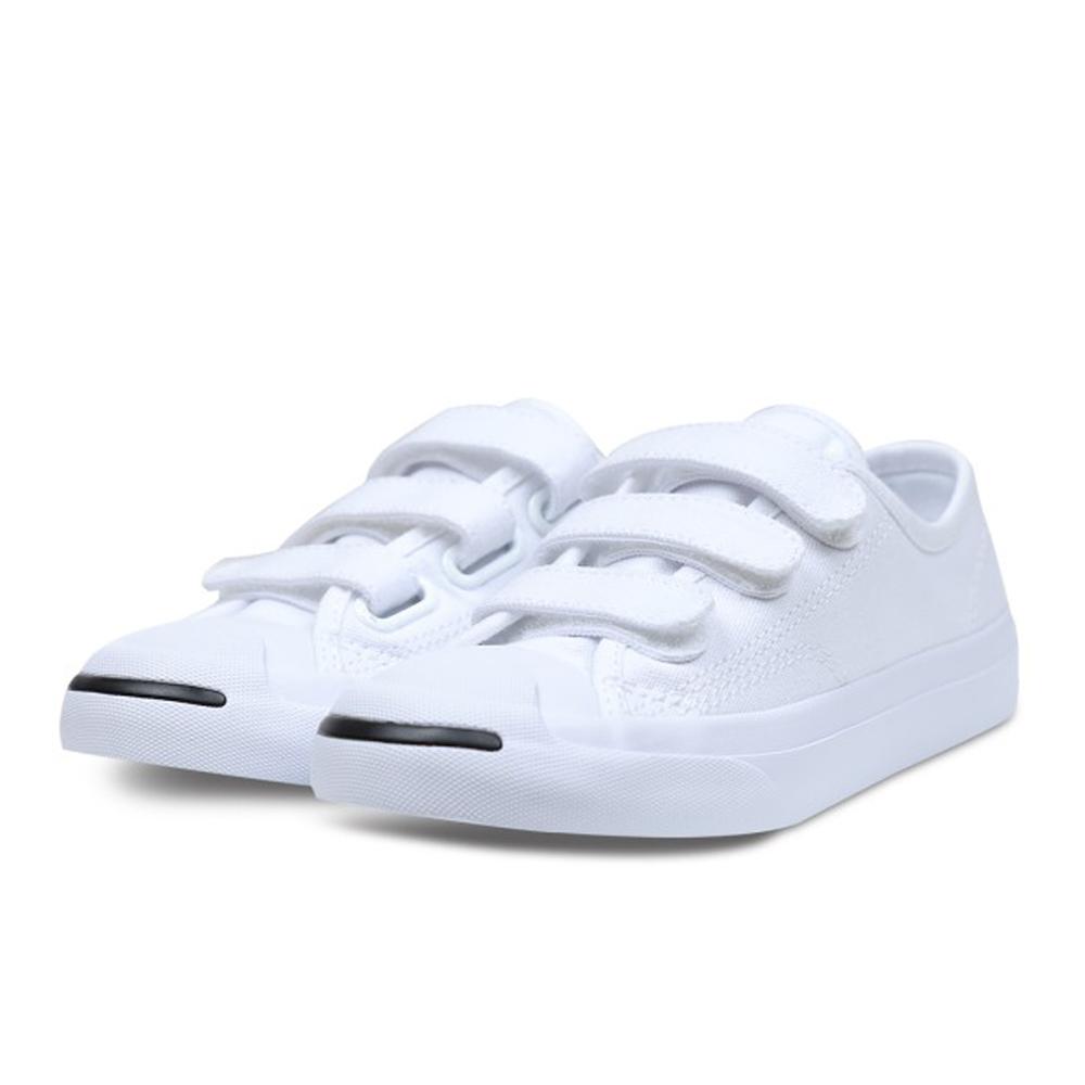 CONVERSE-Jack Purcell-中童鞋-白