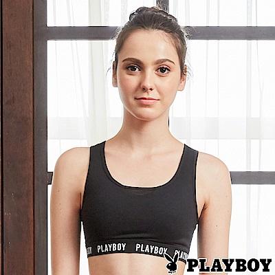 PLAYBOY 性感包覆網紗美背瑜珈內衣(PL6118001)
