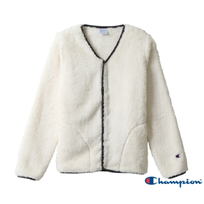 Champion Women s Basic毛絨外套(白色)