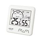 Dr.AV 日式超大螢幕溫濕度計(GM-851)白