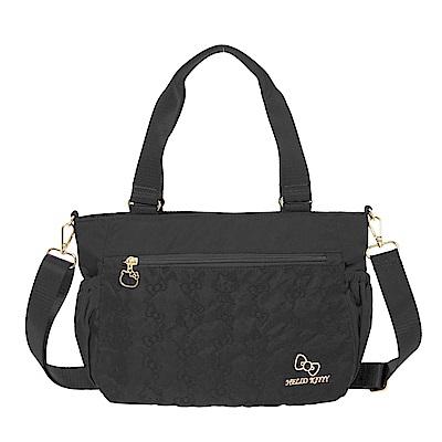 【Hello Kitty】快意之旅-兩用側背包-黑 KT01R05BK