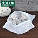【生活工場】(M)平面細網洗衣網袋 product thumbnail 1