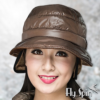 FLYSPIN 防潑水防風鋪棉保暖絲絨護耳冬帽