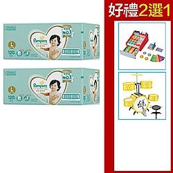 (2箱組合)幫寶適 一級幫尿布 (L)120片/箱