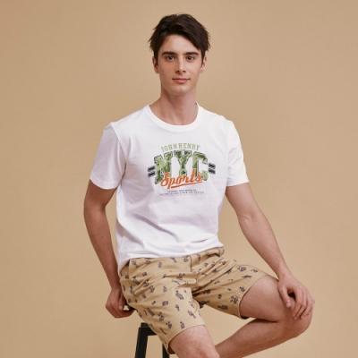 【JOHN HENRY】純棉NYC迷彩短袖T恤-兩色選
