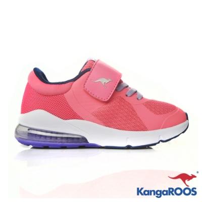 KANGAROOS 童 ASTRO 氣墊跑鞋(粉紅)